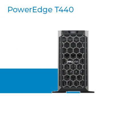 Server Dell PowerEdge T440 là máy chủ 2-socket